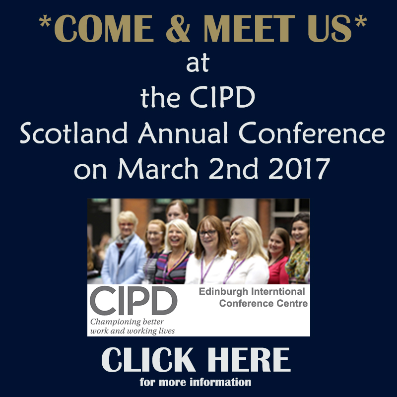 Come and meet us at CIPD Scotland Conference 2017