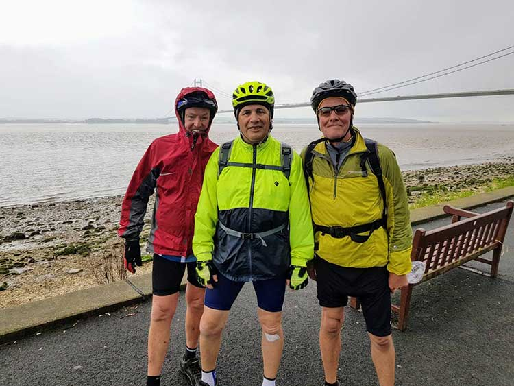 cHRysos HR - Pete Steadman's Chairty Bike Ride